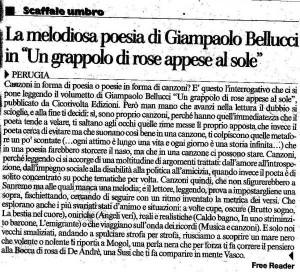 Articolo dal Corriere dell'Umbria